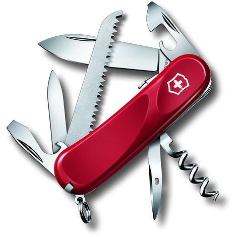 Couteau suisse léger à grande lame Victorinox Evolution S13 2.3813.SE rouge 71 grammes