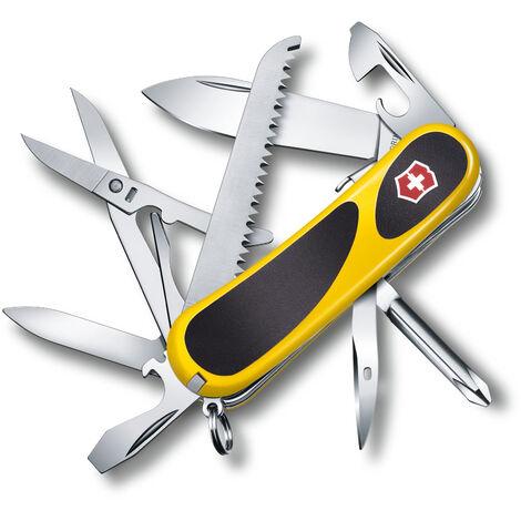 Couteau suisse Victorinox Evolution 18 2..4913.E Rouge avec 15 fonctions dont ciseaux et lime à ongles