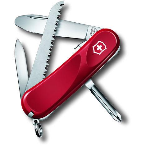 Couteau suisse Victorinox Junior 09 a 8 fonctions 56 grammes couleur rouge 2.4213.SKE