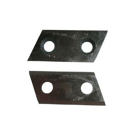 Couteaux pour broyeur de végétaux Scheppach GSH3400 et GS45