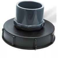 Couvercle 15cm pour cuve 1000L avec entrée PVC 75/90