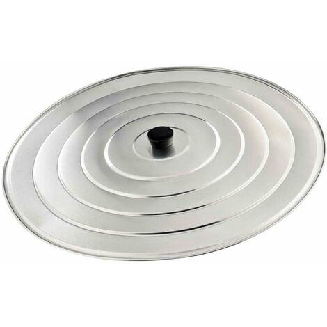 Couvercle à paella aluminium Ø 40cm - Gris