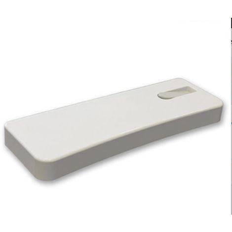 Couvercle blanc avec bouton pour boîtes de toilette externes Pucci Nova-Eco 80004010   blanc