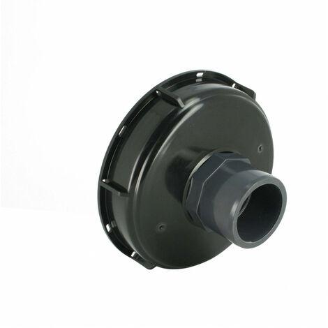 Couvercle de cuve eau 1000L Diamètre 150 mm + Prise PVC 50/63