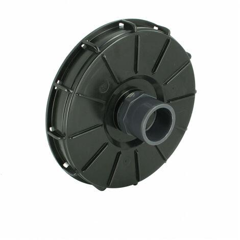 Couvercle de cuve eau 1000L Diamètre 220 mm + Prise PVC 50/63