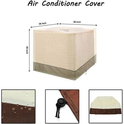Couvercle de protection climatisé de climatiseur 91*91*100cm