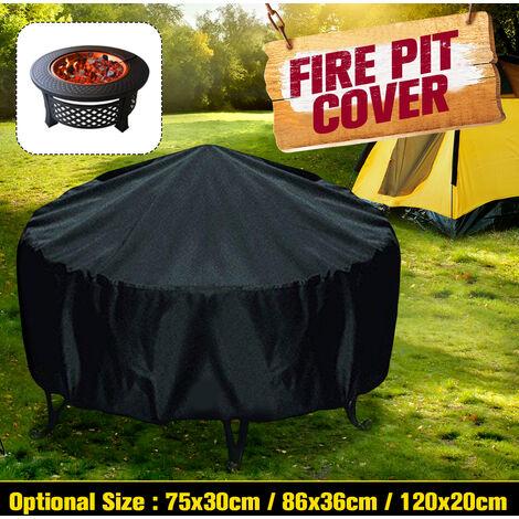 Couvercle de protection de four de brasero abri de cuisine extérieur de cour étanche 75 * 30cm 75x30 cm