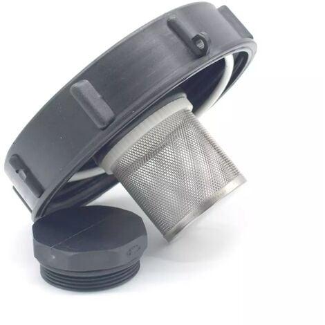 Couvercle diametre 15cm pour cuve IBC 1000 litres et filtre 2 pouces
