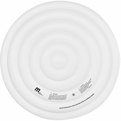 Couvercle gonflable isolant pour spa gonflable rond 4 places MSPA - Blanc
