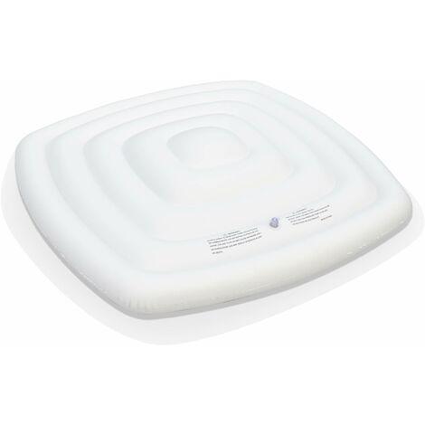Couvercle gonflable pour spa carré 4 personnes MSPA– 128x27cm