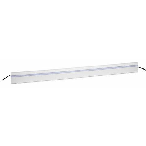Couvercle Keva Led System pour moulure 80x12,5mm module Led blanc longueur 1m blanc Artic (11711)