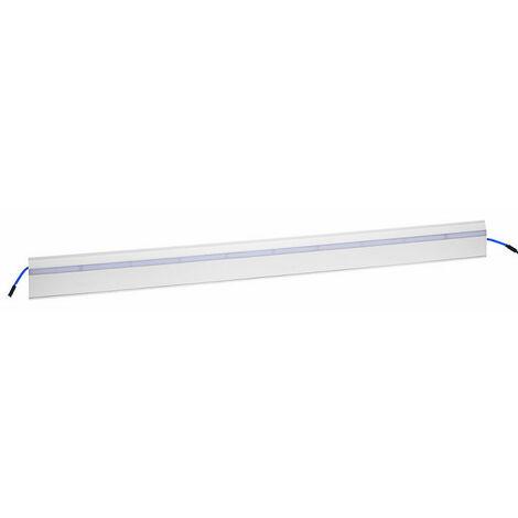 Couvercle Keva Led System pour moulure 80x12,5mm module Led blanc longueur 2m blanc Artic (11712)