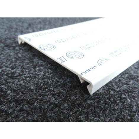 "main image of ""Couvercle largeur 100mm blanc (au metre) pour goulotte de distribution TA-E/G COV-N 100 W0 IBOCO B01796"""