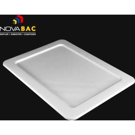 Couvercle Novabac 6 au 54L Blanc - Novap
