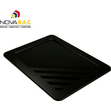 Couvercle Novabac 6 au 54L Noir - Novap