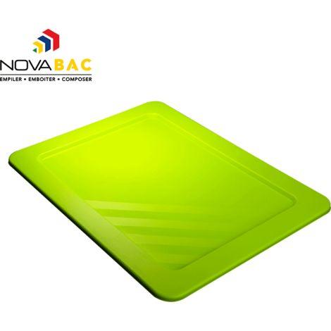Couvercle Novabac 6 au 54L Vert Laser - Novap