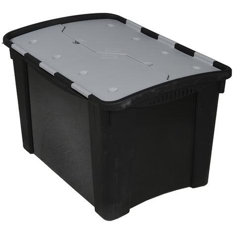 Couvercle pour boîte de rangement RS PRO, Gris, 19mm x 300mm x 400mm en PP