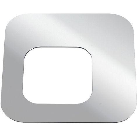 Couvercle, pour poubelle PURE 100 l aluminium