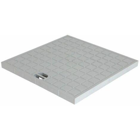 Couvercle pour regard : 40x40, gris