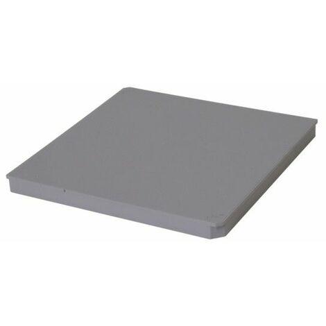 Couvercle regard pour chute : 25x25, gris