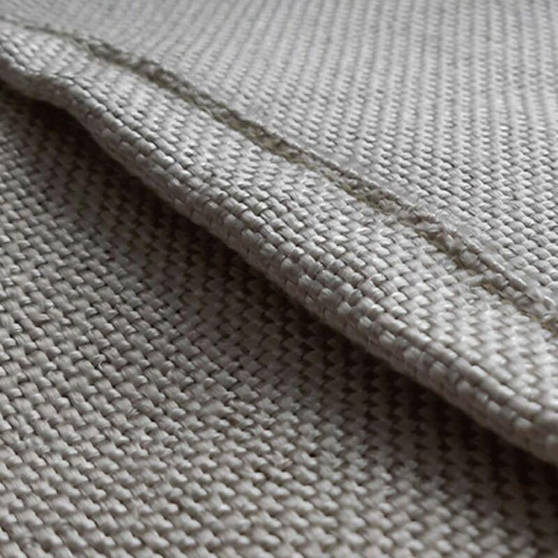 lot de 2 FYJENNICC Couverture anti-feu en fibre de verre avec rubans en coton ignifuge 90 x 90 cm