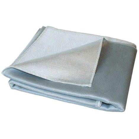 Couverture anti feu protection 1200° - 1 X 2m - Fibre de silice Dimensions au choix
