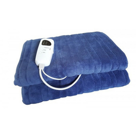 couverture chauffante 2 places 140x150cm 120w - 2066chci - chromex confort