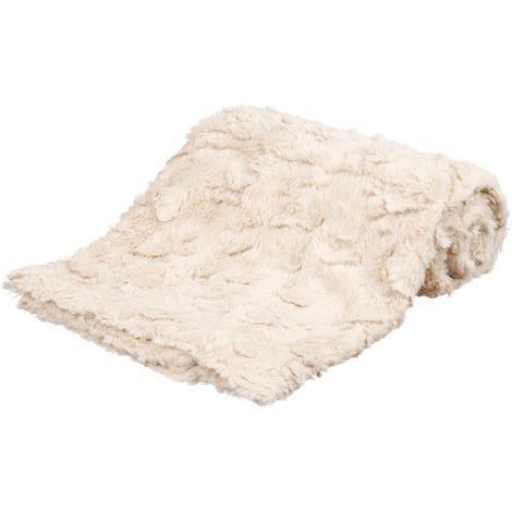 Couverture Cosy - 100x70cm beige Trixie