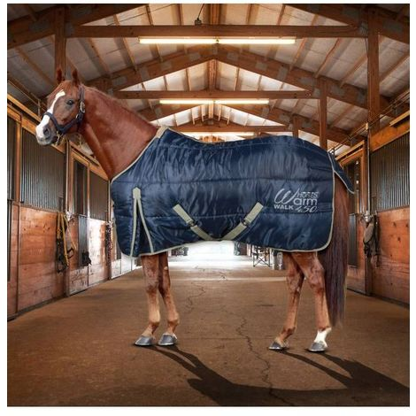 Couverture de box pour le rembourrage des chevaux 450 g WARM WALK Horses