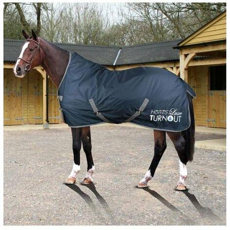 Couverture de paddock imperméable pour le rembourrage des chevaux 300 g  LUXE TURNOUT Horses