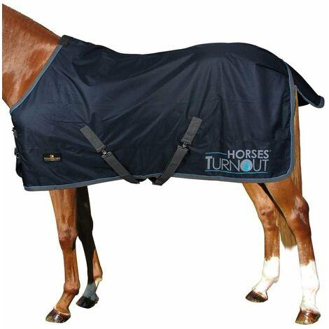 Couverture de paddock modèle Turnout sans rembourrage imperméable Horses