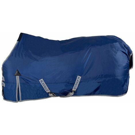 Couverture de paddock rembourrée d'un tissu indéchirable, imperméable et respirant de 400g ACavallo