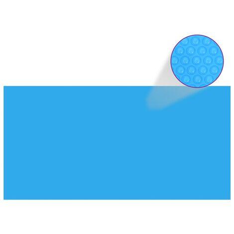 Couverture de piscine Bleu 975 x 488 cm PE