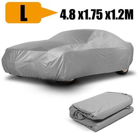 Couverture de protection véhicule bache anti UV poussière L 4.8 x 1.75 x 1.2M