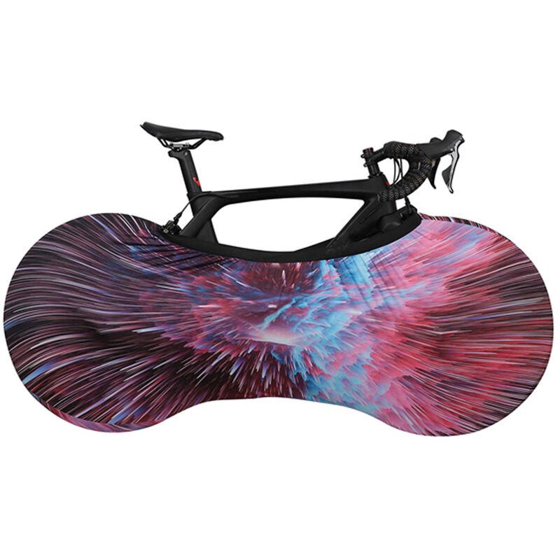 Couverture De Roue De Protection Elastique De Bicyclette, Lumiere Coloree, Petite Taille
