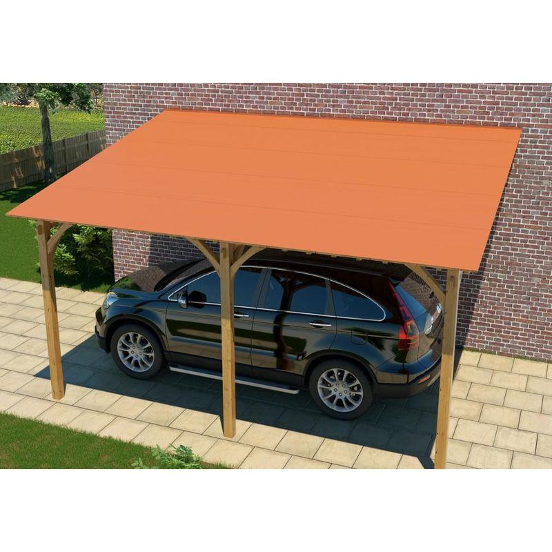 Couverture de toit à faible pente ou de toit plat autoadhésif à froid BFX 5,00 m x 1 m Terra ...