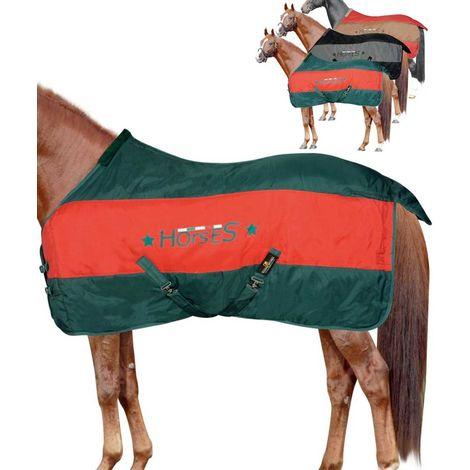 Couverture deux tons Hana avec 350 g et rembourrage 1200D Horses