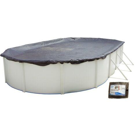 Couverture d'Hiver Piscine Toi Ovale Mesure 915x457 cm 4956