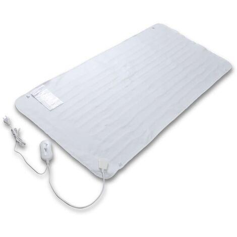 Couverture électrique chauffante Polyester 150 x 70 cm