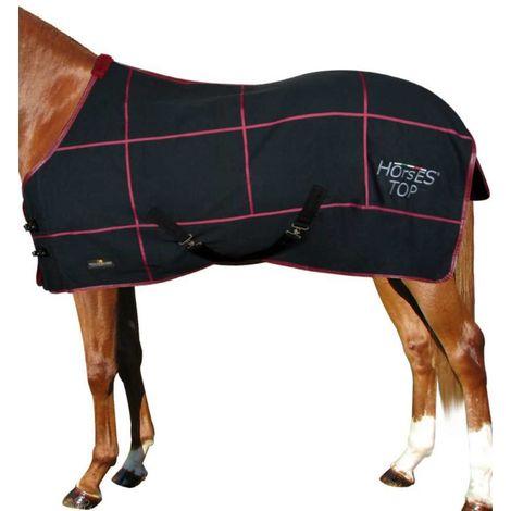 Couverture en coton Modèle TOP Sheet pour la mi-saison Horses