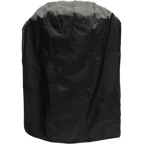 Couverture housse de protection pour barbecue extérieur barbecue poussière pluie étanche rond 77x58cm
