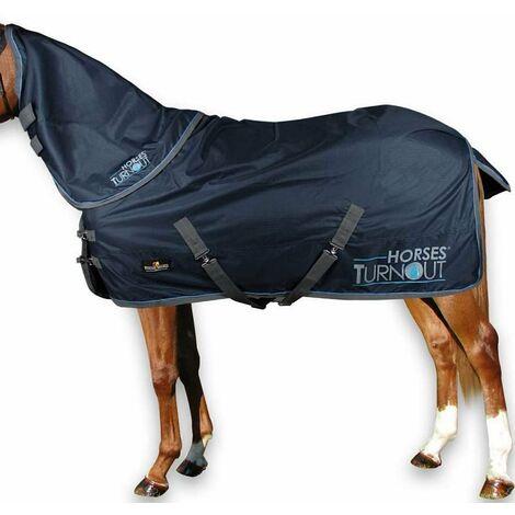 Couverture imperméable Paddock  più  Collier d'aiguille sans rembourrage Horses