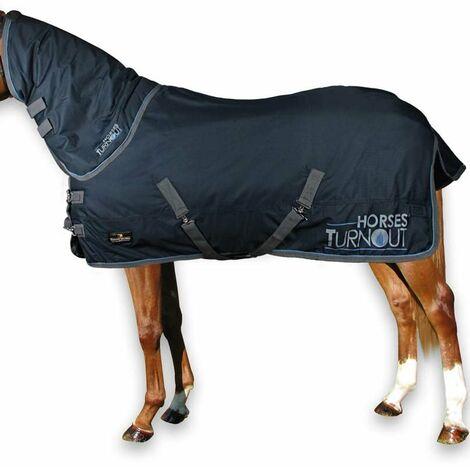 Couverture imperméable Paddock più modèle collier Rembourrage d'aiguillage 400 g Horses