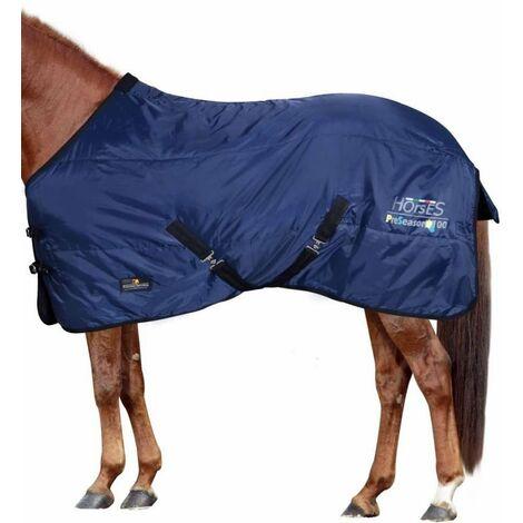 Couverture matelassée pré-saison modèle 100g Horses