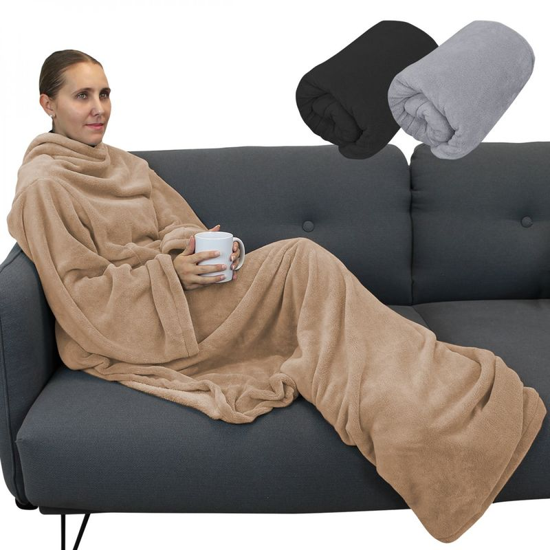 Microfibre Couverture Couverture XXL 3 Tailles au choix Couverture pour canapé plaid couverture