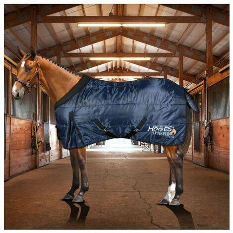 Couverture pour box à chevaux 350 g modèle THERMO. Horses