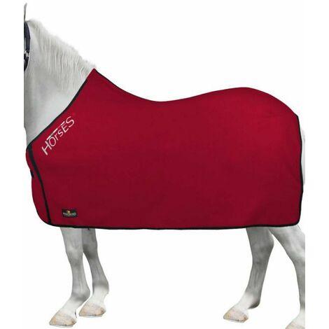 Couverture pour cheval en laine polaire Basic Pony idéale pour le transport Horses