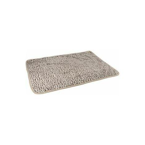 Couverture snoozzy gris/noir 100x70cm