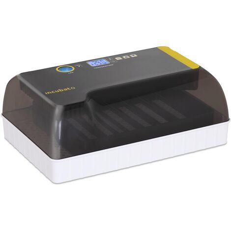 Couveuse Automatique Incubateur Appareil À Couver 12 Oeufs Volaille Éleveur LED