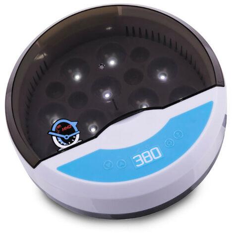 Couveuse manuelle digitale poule capacité 9 œufs - HHD